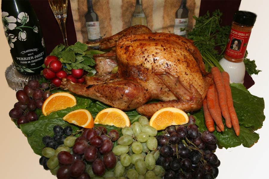 Whole Oven Roasted Turkey With Asian Herbs And Spices Recipes ...